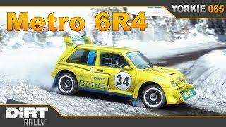 dirt rally metro 6r4 at monte carlo