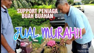 Jom support paklong penjual buah buahan tepi jalan...🍊🍅