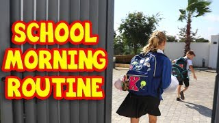 SCHOOL MORNING ROUTINE!!! SIS vs BRO