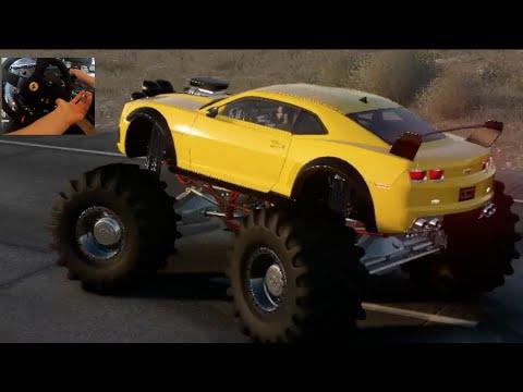 Camaro Monster Truck >> The Crew Wild Run Beta Gopro Pt2 Camaro Monster Truck Backflip