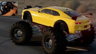 The Crew : Wild Run Beta GoPro Pt2 Camaro Monster Truck Backflip!