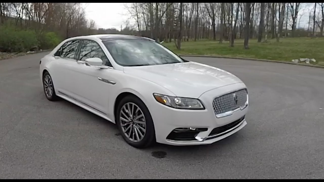 2017 Lincoln Continental Select Awd Walk Around Video In Depth Review