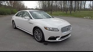 2017 Lincoln Continental Select AWD|Walk-Around Video|In-Depth Review