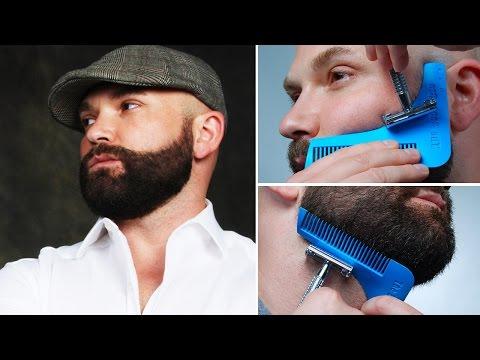 The Beard Bro Beard Shaping Tool- How-to Tutorial