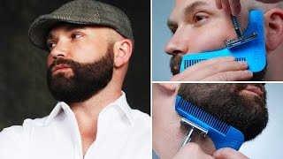 The Beard Bro Beard Shaping Tool- How-to Tutorial