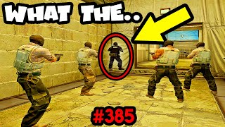 0 IQ SNEAKY BEAKY NINJA! - CS:GO BEST ODDSHOTS #385