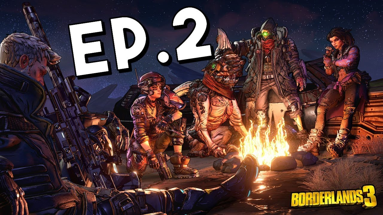 Borderlands 3 Playthrough CO-OP Gameplay w/ Airfisher and Joker | Ep.2 |