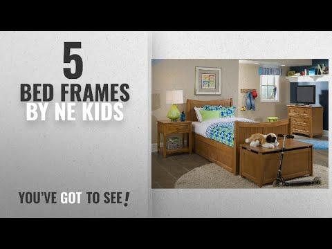 Top 10 Ne Kids Bed Frames [2018]: NE Kids School House Taylor Bed in Pecan - Twin