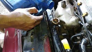 cara mudah membersihkan karat dan kerak radiator tanpa membongkarmerojok biar mesin tetap dingin