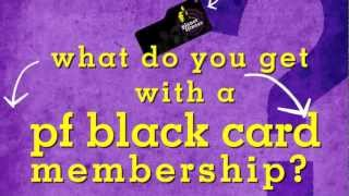 Pf Black Card Benefits