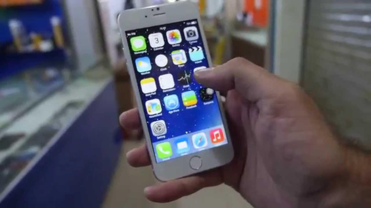 iPhone 6 pre-clone at Shenzhen market!