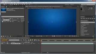 Как сделать эффекты Видеокурс After Effects бесплатно урок 4