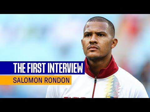 SALOMÓN RONDÓN: THE FIRST INTERVIEW |  VENEZUELA STRIKE SIGNALS FOR EVERTON