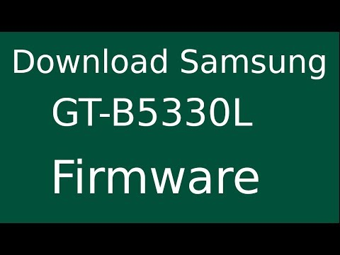 How To Download Samsung Galaxy Chat GT-B5330L Stock Firmware (Flash File) For Update Android Device