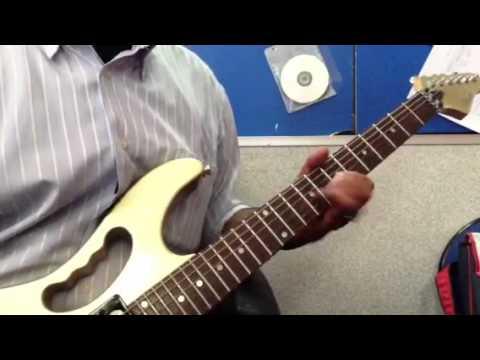 Khalifah-bunga anak pak abu (gitar cover)