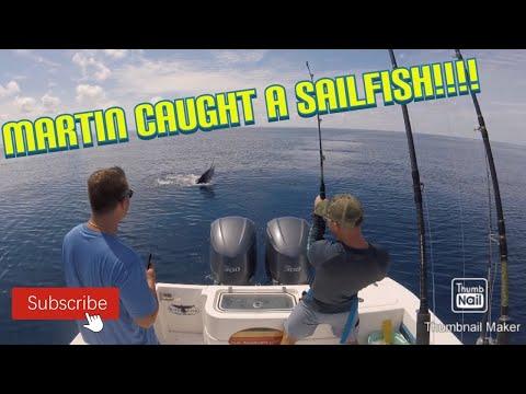 Martin Caught His FIRST SAILFISH | Zancudo Lodge Charters Golfito, Costa Rica