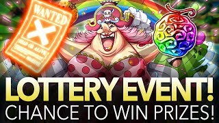 TREASURE MAP BIG MOM LOTTERY EVENT! 500 GEM PRIZE! (ONE PIECE Treasure Cruise)