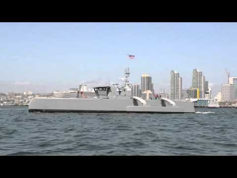 Unmanned Sea Hunter Arrives in San Diego