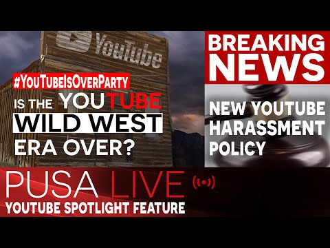 New YouTube Content Policy Update - Breaking News!   Puša Studios Special!