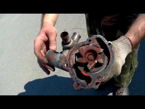 Замена водяного насоса (помпы) УАЗ Патриот