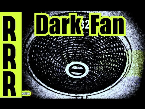 FAN SLEEP = DARK FAN WHITE NOISE = FAN NOISE  w/ DARK SCREEN FAN SOUND