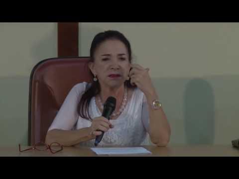 Aula magna do Mestrado em Comunicação Social da UCB - Prof.ª Lucia Santaella