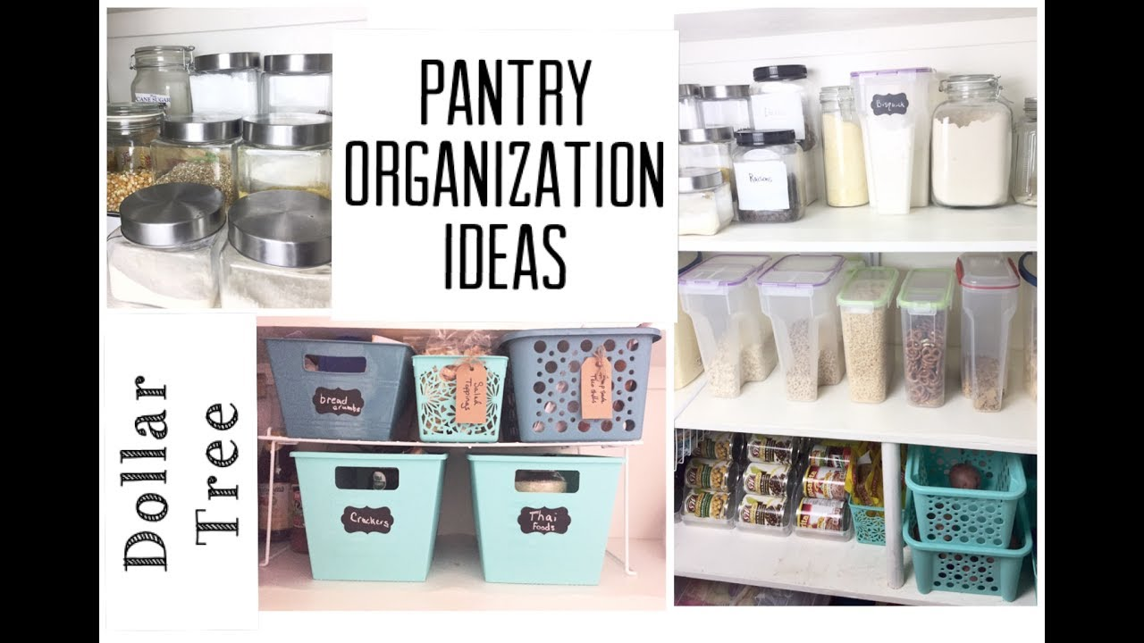 dollar tree pantry organization ideas | organize with me | momma