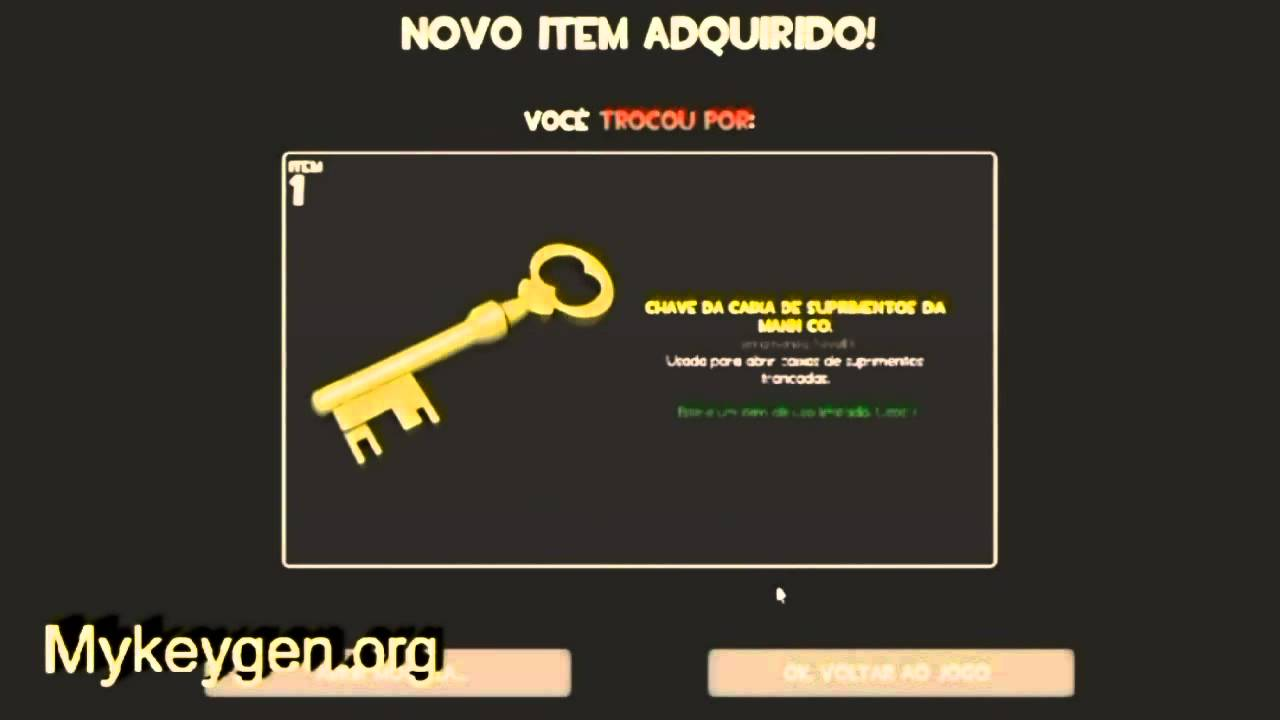 Team Fortress 2 Crate Key Hack