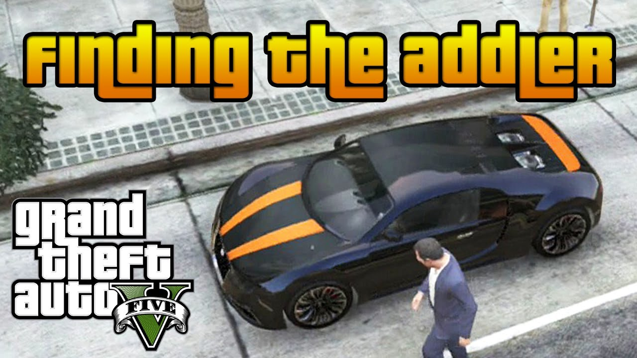 gta 5 secret car addler bugatti veyron location gtav youtube. Black Bedroom Furniture Sets. Home Design Ideas