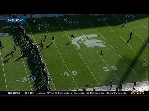 Reaction to Michigan-Michigan State Pregame | Big Ten Football