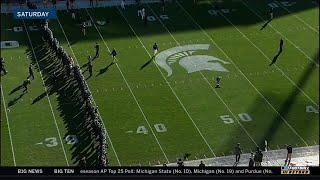 Reaction to Michigan-Michigan State Pregame   Big Ten Football