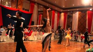 Sandakan Open - Youth Latin 5 Dance Jared & Venice