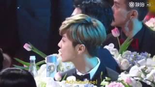 【鹿晗】2016腾讯星光大赏161210 亚洲全能艺人(饭拍版)