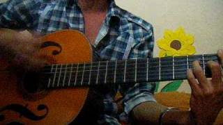 doi chan tran - guitar acoustic Lam Vu