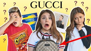 Boyfriend REACTS to WHAT'S IN MY GUCCI BAG **Gone Wrong** MUST WATCH 🎒| Piper Rockelle