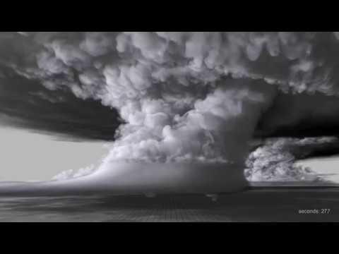 Supercomputer Simulation of 2011 El Reno, OK Tornado (EF-5)
