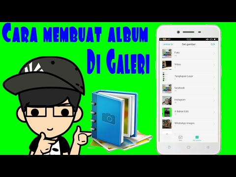 Cara Membuat Folder/album Di Galeri | Tutorial Android