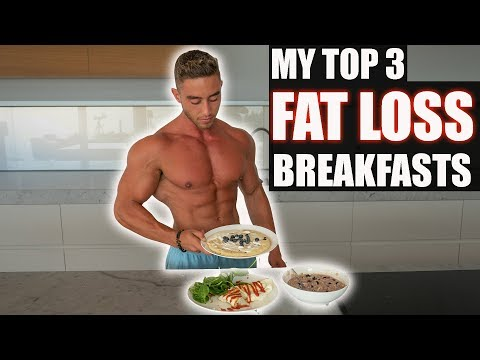 BEST Cutting Breakfast Meals (For Fat Loss) | TMK Episode 1 | Zac Perna