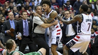 Washington Wizards vs Boston Celtics - BEEF HIGHLIGHTS -  ECSF Game 3 | 8 Techs & 3 Ejections!