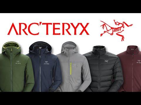 Arc'Teryx top 5  jackets