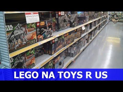 Área de Lego na Toys R Us (Orlando, FL)