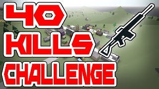 40 KILLS CHALLENGE | Kin To Radio Tower (Ep.5) ROBLOX