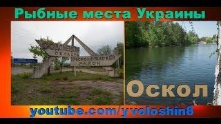Места для рыбалки в Украине. Оскол.