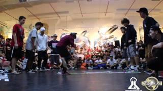 Bgirl Ami (GOOD FOOT CREW) RADIKAL FORZE JAM 2013 | JAPAN