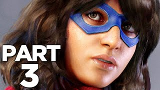 MARVEL'S AVENGERS Walkthrough Gameplay Part 3 - MS. MARVEL (2020 GAME)
