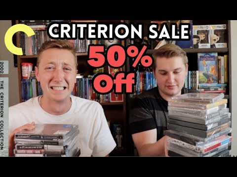 Barnes and Noble's 50% Off Criterion Sale Blu-Ray Haul
