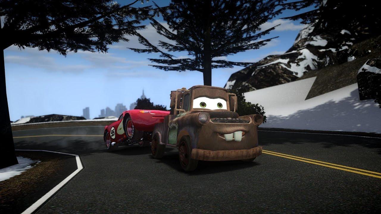 GTA IV Tow Mater Crash Testing - YouTube