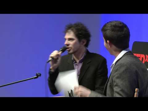 Dale Stephens Michael Ellsberg - TEDxSF - Debating Higher Education