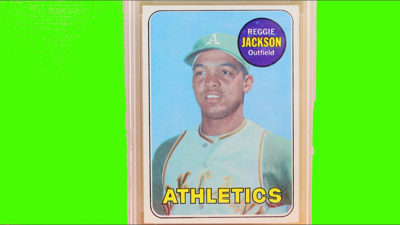 Psa Reggie Jackson Graded Baseball Sports Card Ernie Banks Roger Maris All Star Players Rookie