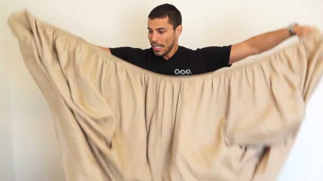 Person On Bed Sheets